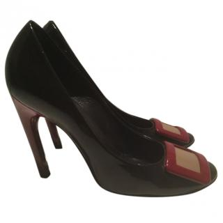 Belle de nuit Roger Vivier patent leather pumps