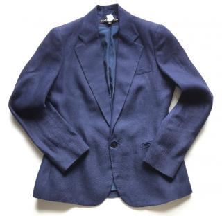 Ralph Lauren Black Label dark blue linen blazer