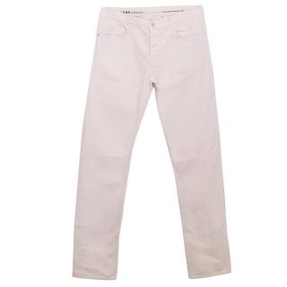 Marc Jacobs Pale Pink Cotton Trousers