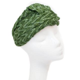 Missoni Green Turban Style Headband