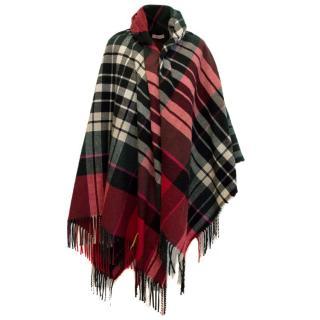 Vivienne Westwood Tarten Blanket Cape
