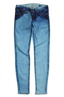 True Religion Blue European Chrissy Jeans