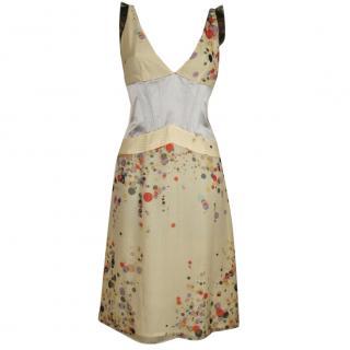 Christian Lacroix silk corset dress