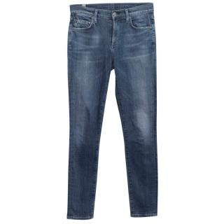 Citizens of Humanity by Jerome Dahan Blue Skinny Jeans