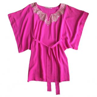 Twelfth Street by Cynthia Vincent Pink Silk Dress