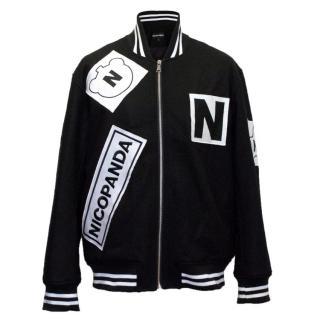 Nicopanda Black Bomber Jacket