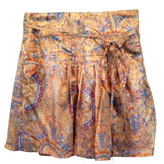 See by Chloe paisley silk skirt
