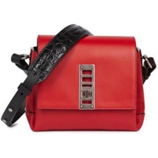 Proenza Schouler red leather cross-body bag
