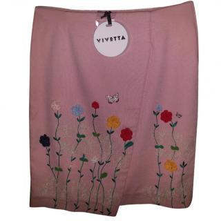 Vivetta Floral skirt