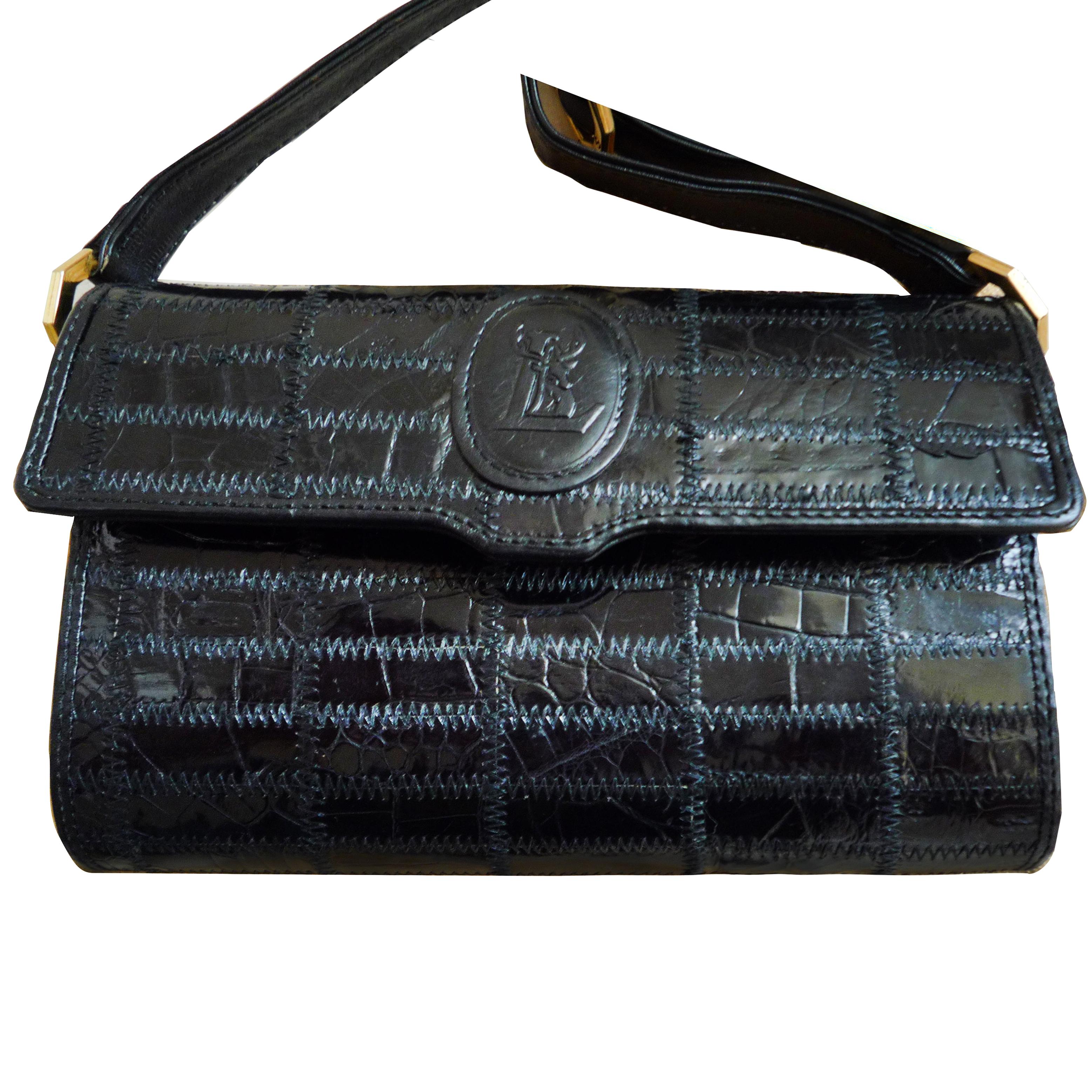 48ce73a19fd4c Crocodile Liz of Paris women s clutch bag