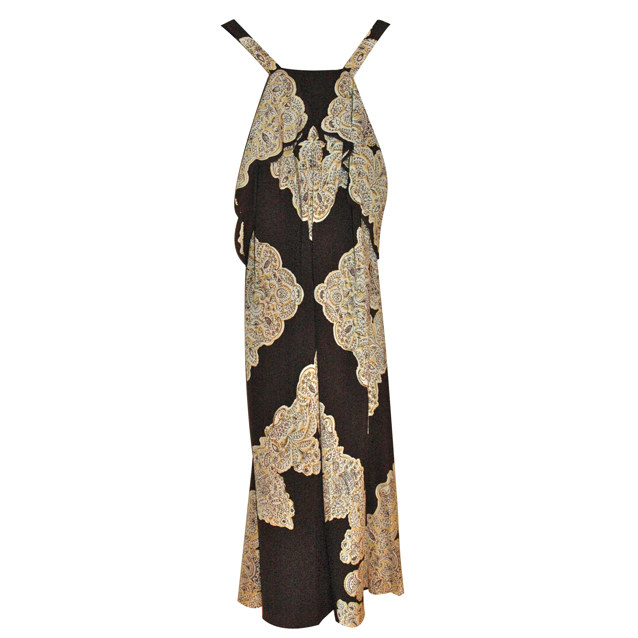 Cesare Fabri silk dress