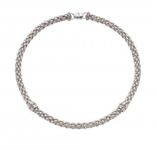 Twin Fope Necklace from Mappin and Webb