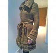 Roberto CAVALLI Coat with fur details