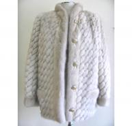 Christian Dior Ivory Boutique Fur Jacket