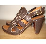 Chie Mihara brown leather shoes
