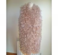 Haute Hippie Maribou feather vest