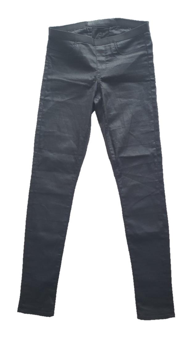 Helmut Lang Black Slate Wash Leggings
