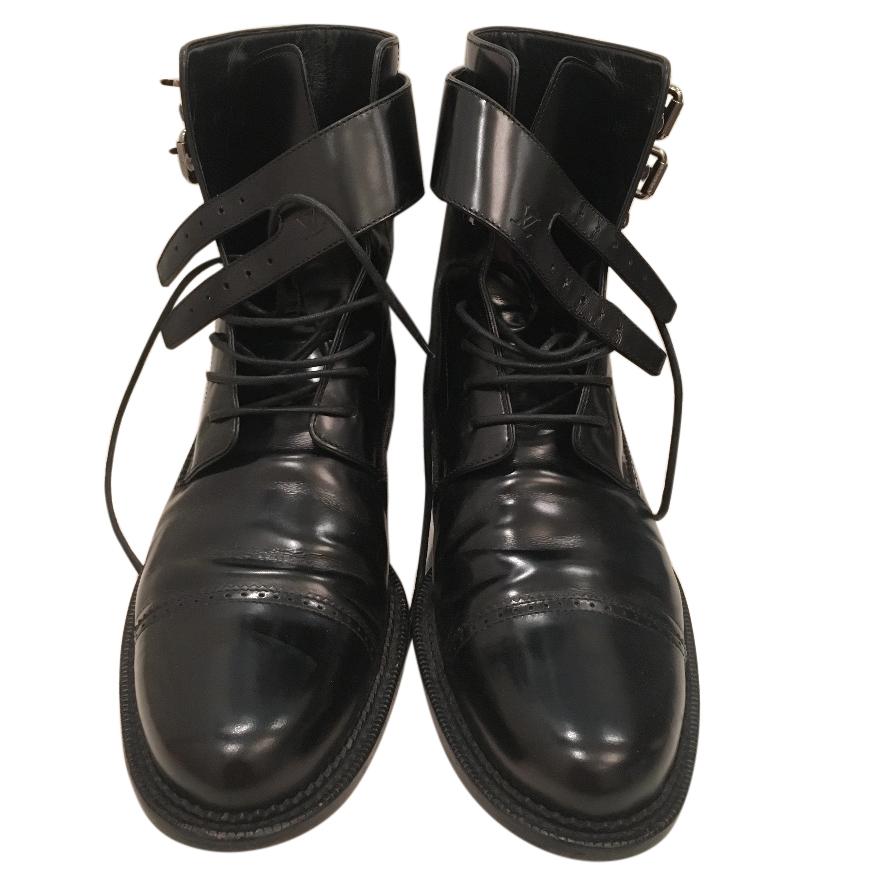 Louis Vuitton Mens Combat Boots   HEWI
