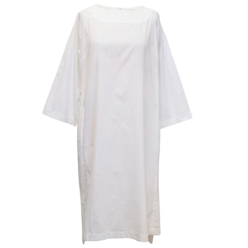Bamford White Cotton Tunic Dress