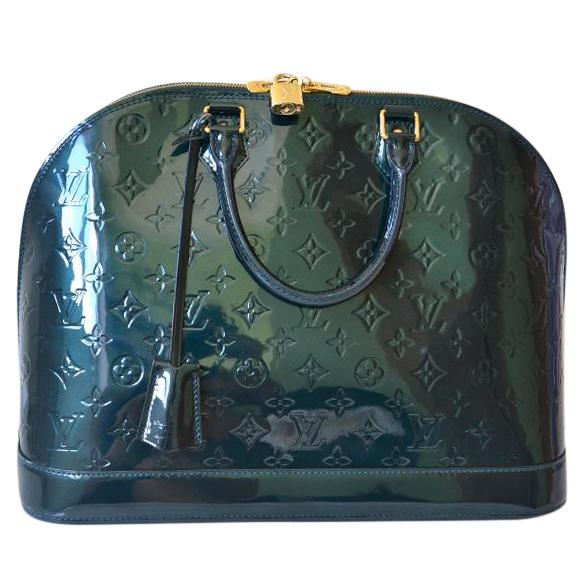 Louis Vuitton Alma Mm Bleu Nuit  099c459457a