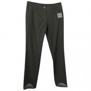 Chanel Khaki Ski Trousers - Never Worn