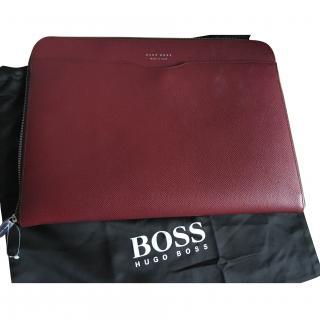 Hugo Boss Laptop Bag - Red Saffrano