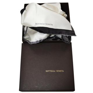 Bottega Veneta silk pocket square