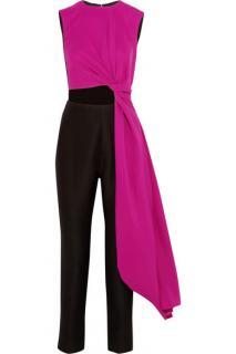 Roksanda pink and black jumpsuit