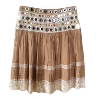 Blumarine embellished skirt