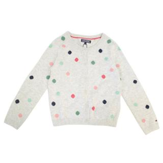 Tommy Hilfiger Girls Dotty Cardigan
