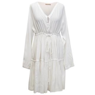 Rabens Saloner White Dress