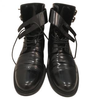Louis Vuitton men's combat boots