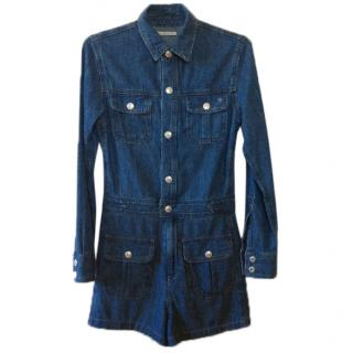 AG Adriano Goldschmied Alexa Chung designed denim jumpsuit