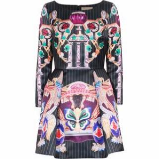 Mary Katrantzou Copelia printed puff dress