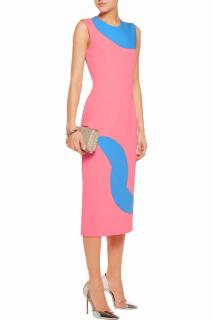 Roksanda Ilincic Allerton Two Tone dress