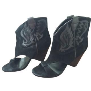 Ash Open Cowboy Boots