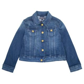 Tommy Hilfiger Girls Blue Denim Jacket
