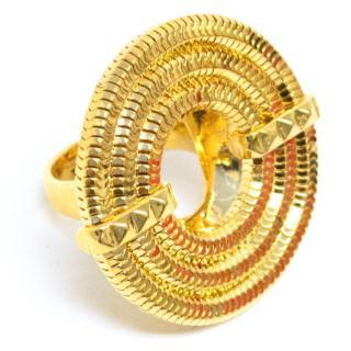 Lara Bohnic Gold Plated Apollo Ring