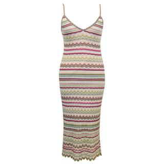 Marc Cain Knitted Colourful Dress