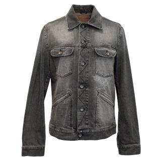 Dolce and Gabbana Men's Grey Denim Jacket