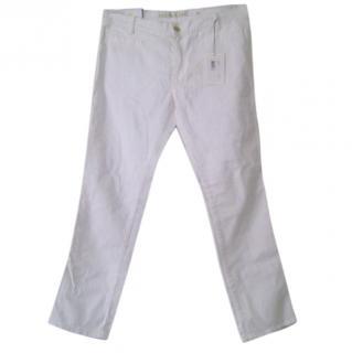 MiH Paris White Jeans
