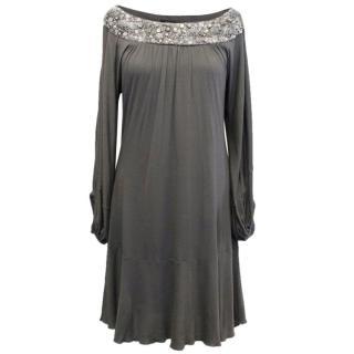 Patrizia Pepe Dark Grey Dress