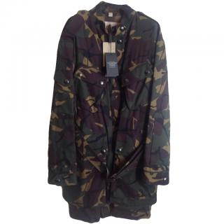Burberry Brit Camouflage Parka