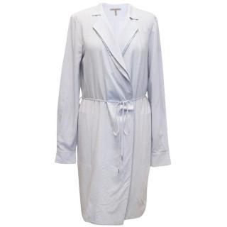Halston Heritage Lilac Wrap Over Dress