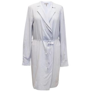 Halston Heritage Lilac Wrap Over Dress