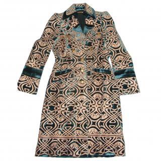 Roberto Cavalli velvet coat