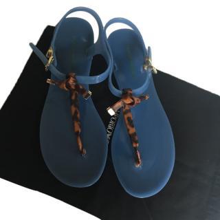 Emporio Armani rubber sandals