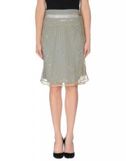Twin Set By Simona Barbieri Tulle Sequin Skirt
