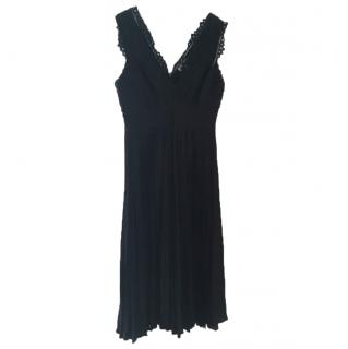 Rebecca Taylor black evening dress