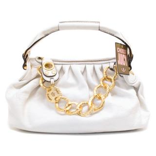 Juicy Couture White tote bag with gold chain